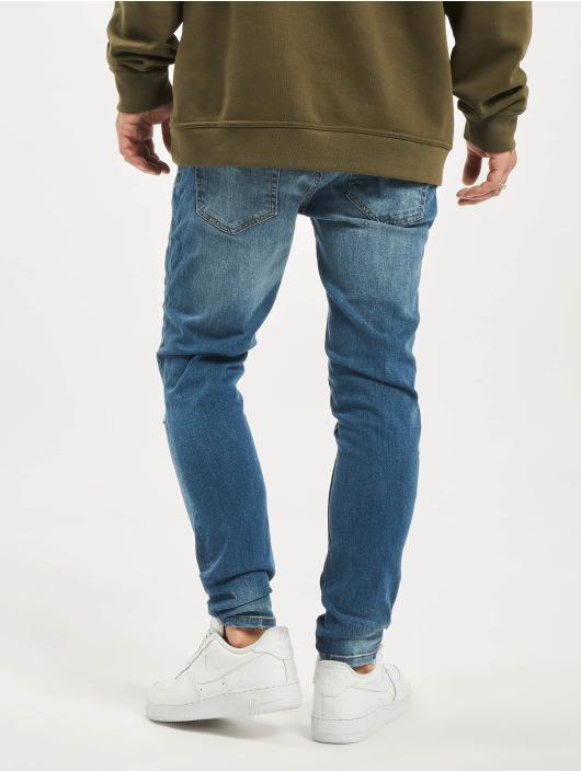 2Y Slim Fit Jeans Adrian modrá