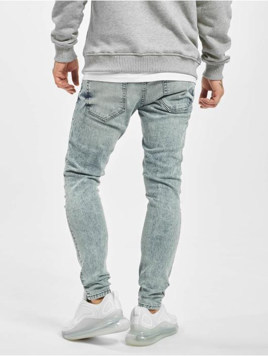 2Y Slim Fit Jeans Dario modrá
