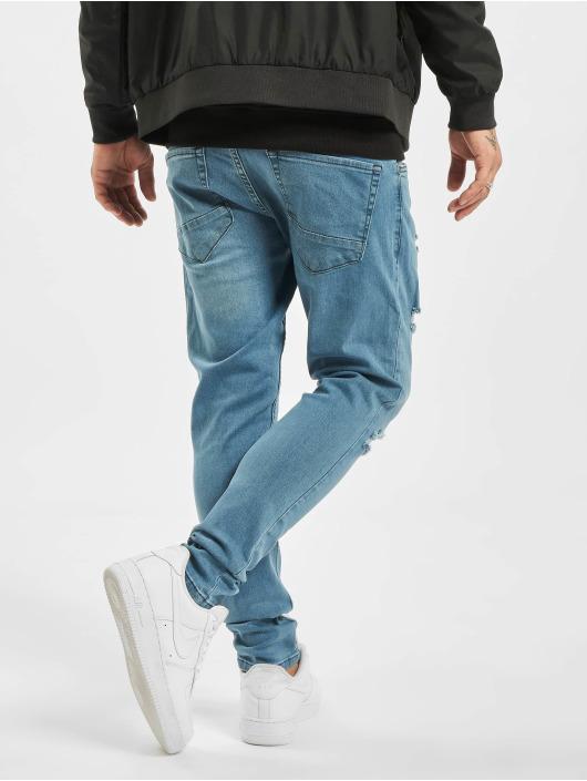 2Y Slim Fit Jeans Malte modrá