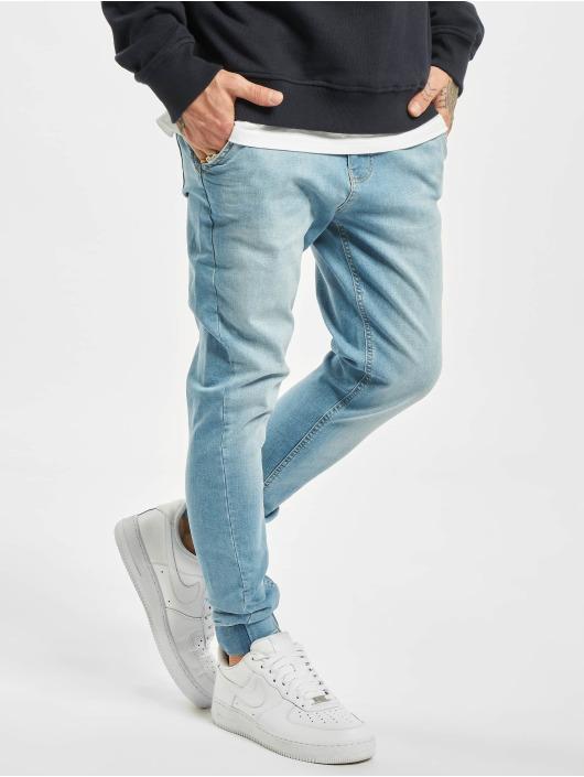 2Y Slim Fit Jeans Milan modrá