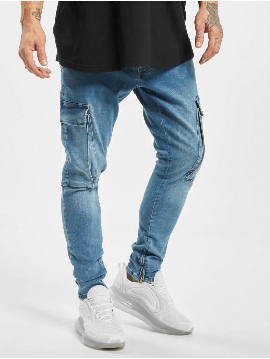 2Y Slim Fit Jeans Yasin modrá