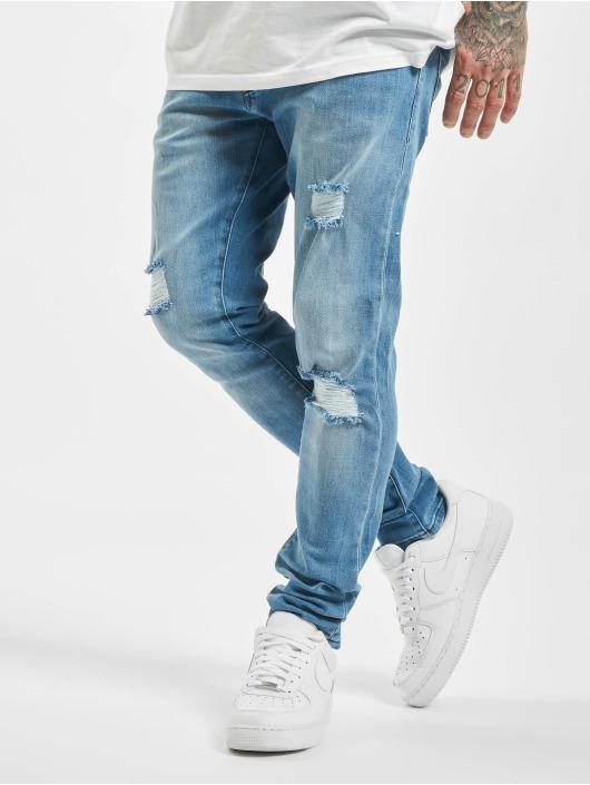 2Y Slim Fit Jeans Cam modrá