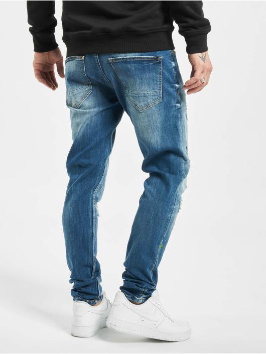 2Y Slim Fit Jeans Okan modrá