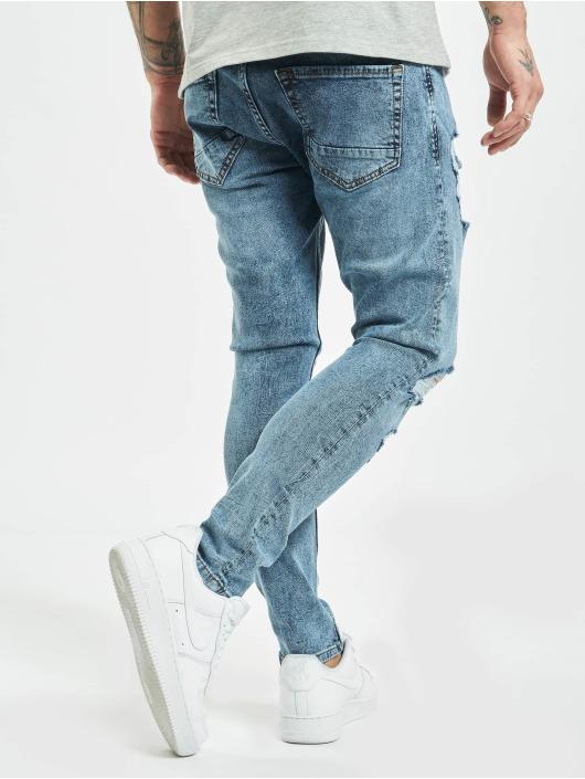 2Y Slim Fit Jeans Alkim modrá