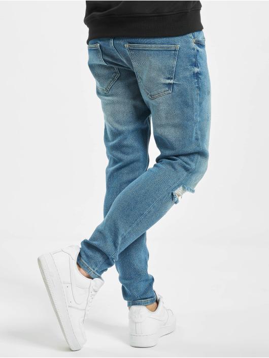 2Y Slim Fit Jeans Berk modrá