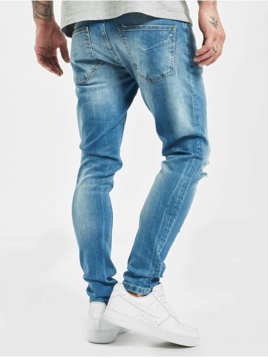 2Y Slim Fit Jeans Can modrá