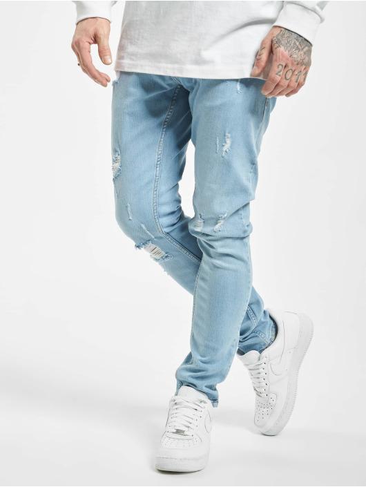 2Y Slim Fit Jeans Ako modrá