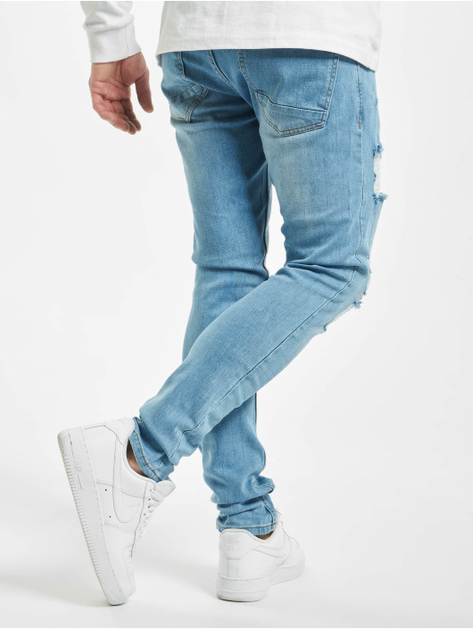 2Y Slim Fit Jeans Alan modrá