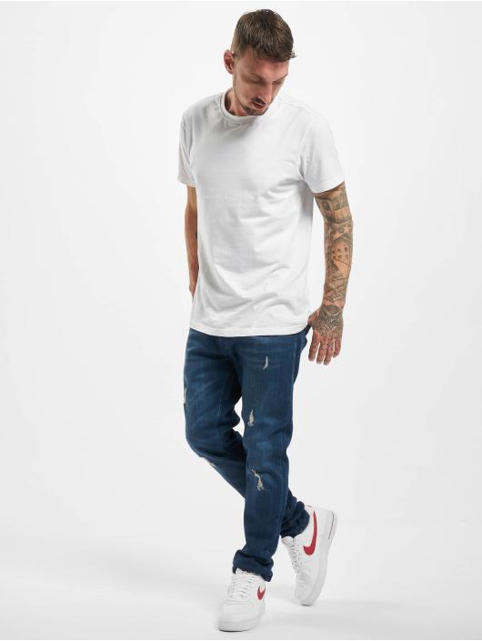 2Y Slim Fit Jeans Sergio modrá