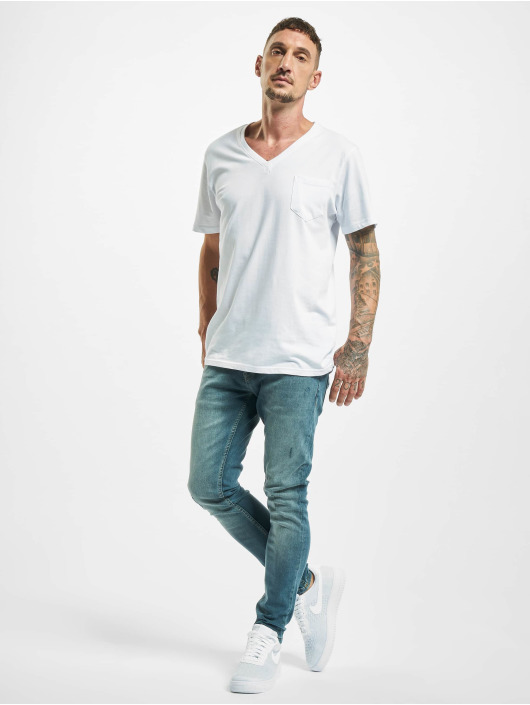 2Y Slim Fit Jeans Davut modrá