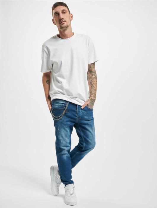 2Y Slim Fit Jeans Will modrá