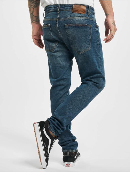2Y Slim Fit Jeans Jörg modrá