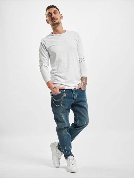 2Y Slim Fit Jeans Zayn modrá