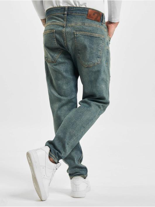 2Y Slim Fit Jeans Avan modrá