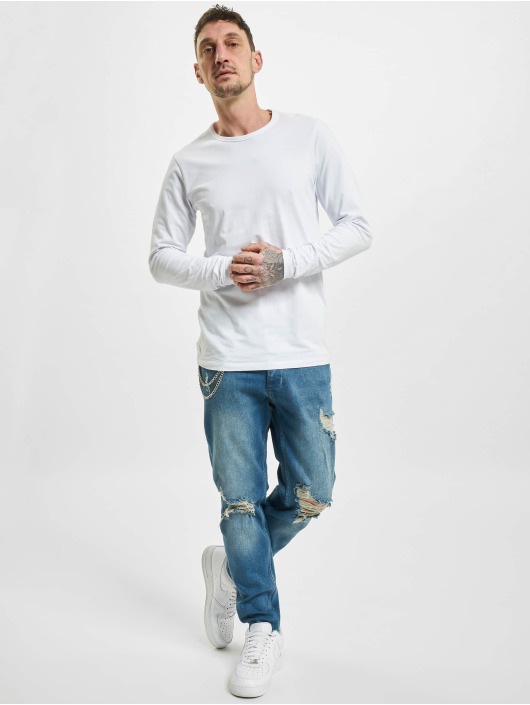 2Y Slim Fit Jeans Claas modrá