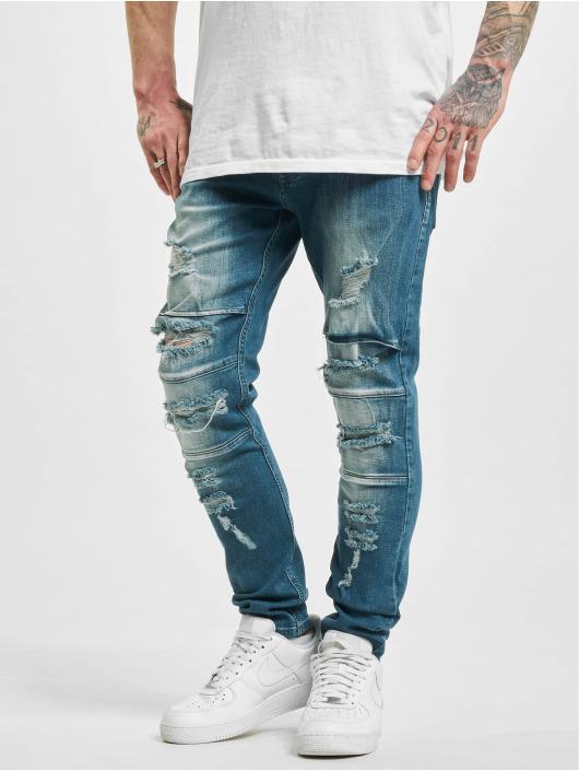 2Y Slim Fit Jeans Elkin modrá