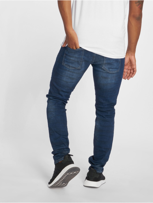 2Y Slim Fit Jeans Duarte modrý