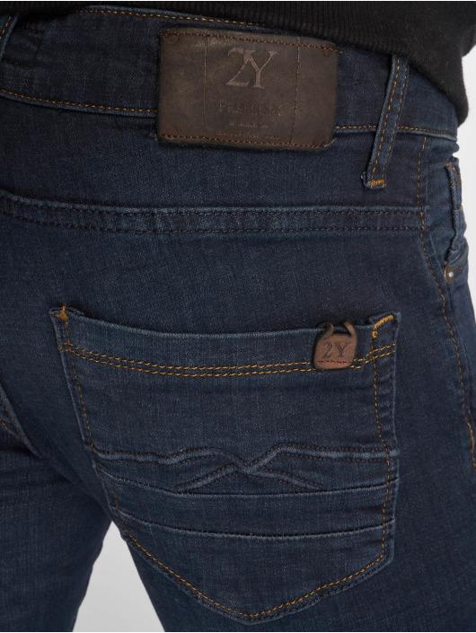 2Y Slim Fit Jeans Jon modrý