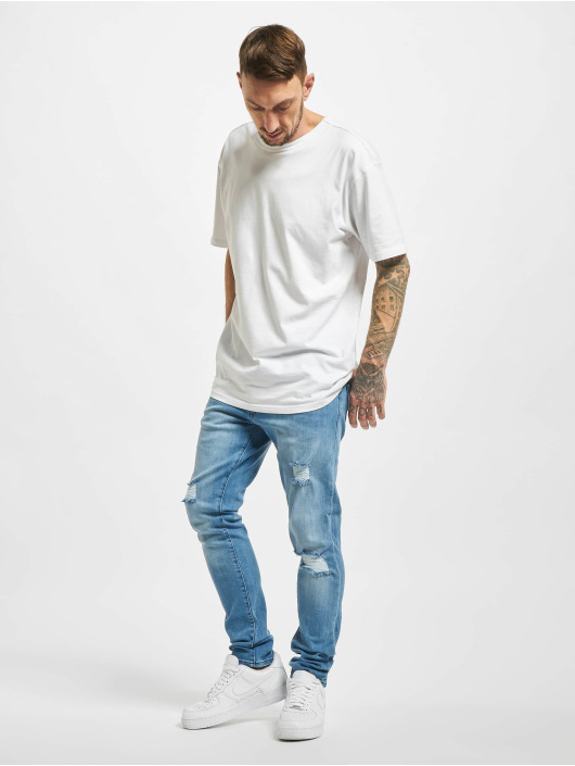 2Y Slim Fit Jeans Cam modrý