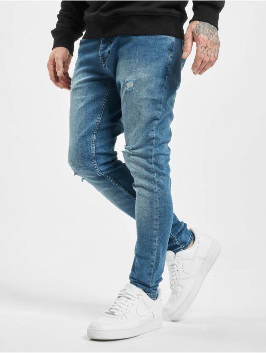 2Y Slim Fit Jeans Aslan modrý