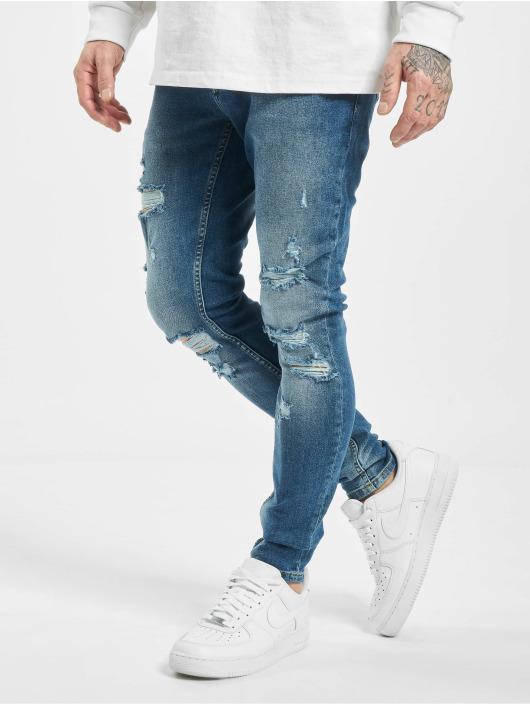 2Y Slim Fit Jeans Azem modrý