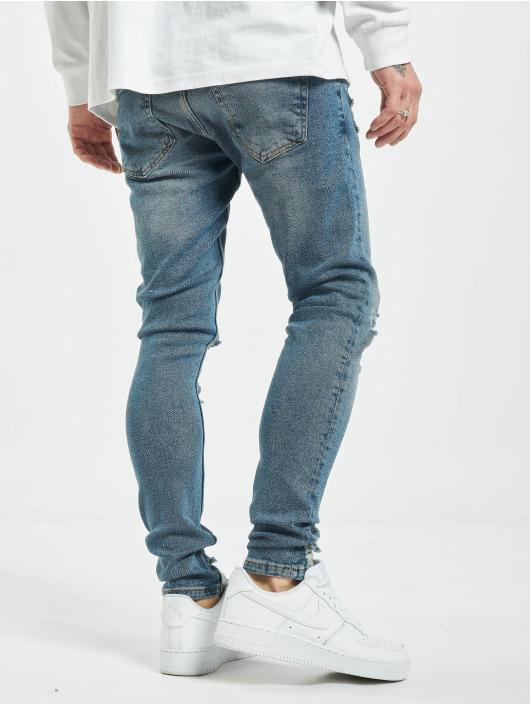 2Y Slim Fit Jeans Gunesh modrý