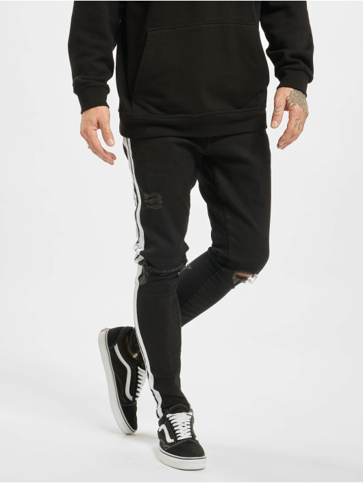 2Y Slim Fit Jeans Moritz nero