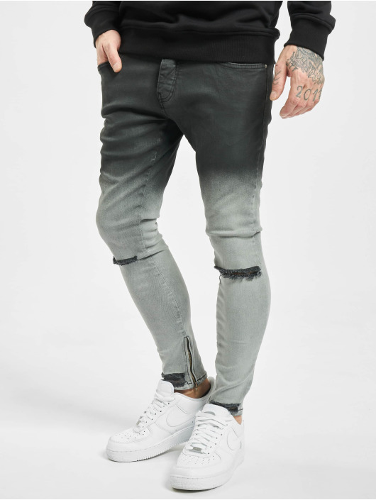 2Y Slim Fit Jeans Mani nero
