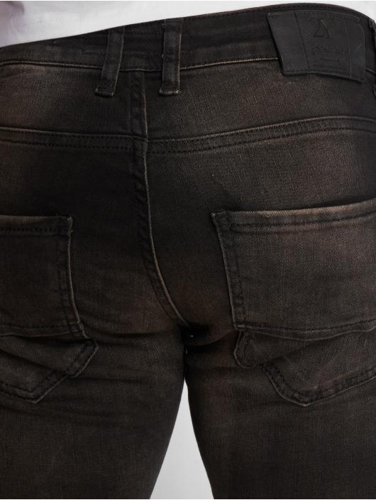 2Y Slim Fit Jeans Aleo schwarz