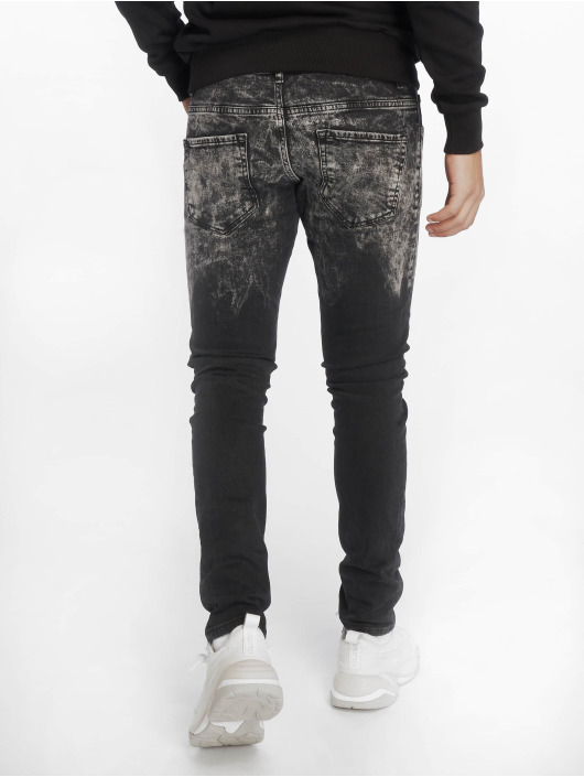 2Y Slim Fit Jeans Wyatt schwarz