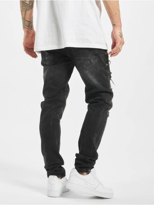 2Y Slim Fit Jeans Flory schwarz