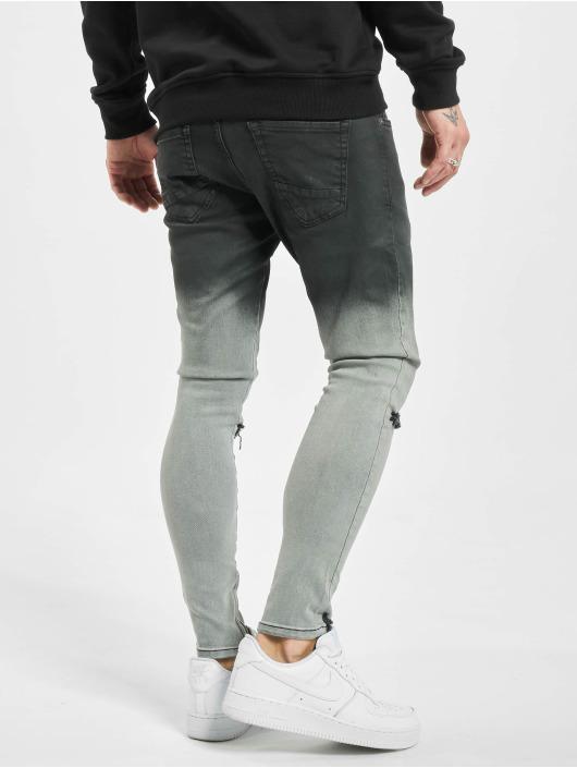 2Y Slim Fit Jeans Mani schwarz