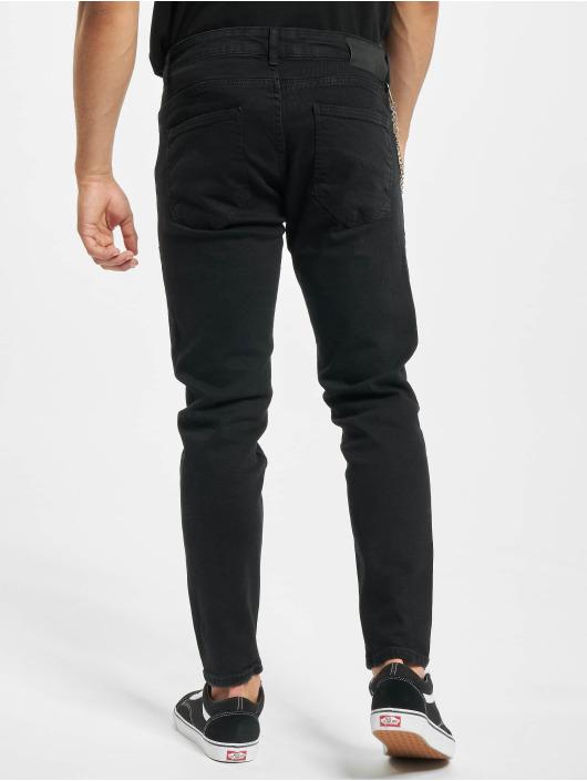 2Y Slim Fit Jeans Jakup schwarz