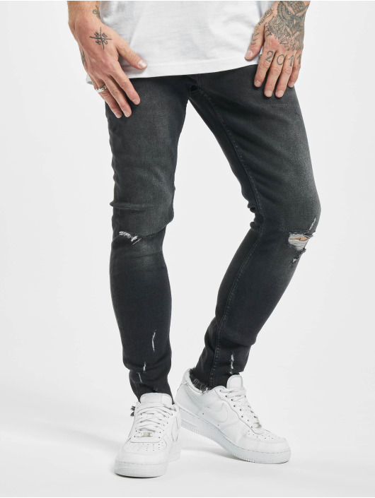 2Y Slim Fit Jeans Charles schwarz