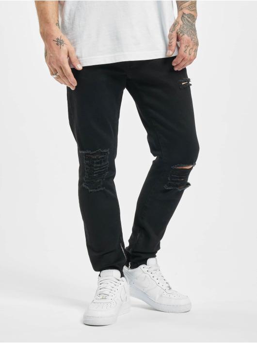 2Y Slim Fit Jeans Bert schwarz