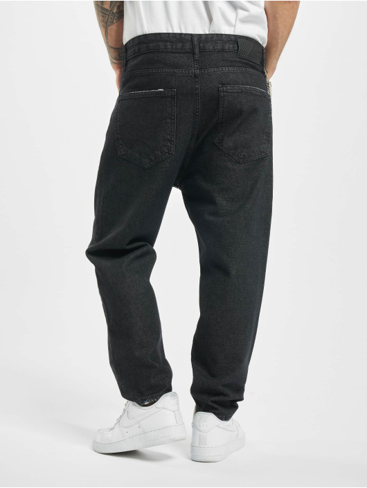 2Y Slim Fit Jeans Fred schwarz