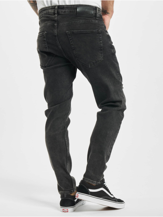2Y Slim Fit Jeans Phil schwarz
