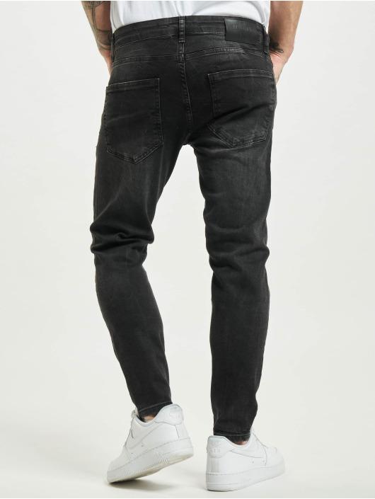 2Y Slim Fit Jeans Gresham schwarz