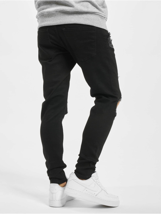 2Y Slim Fit Jeans Jona sort