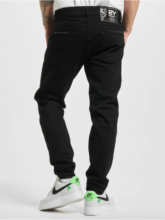 2Y Slim Fit Jeans Gibson sort