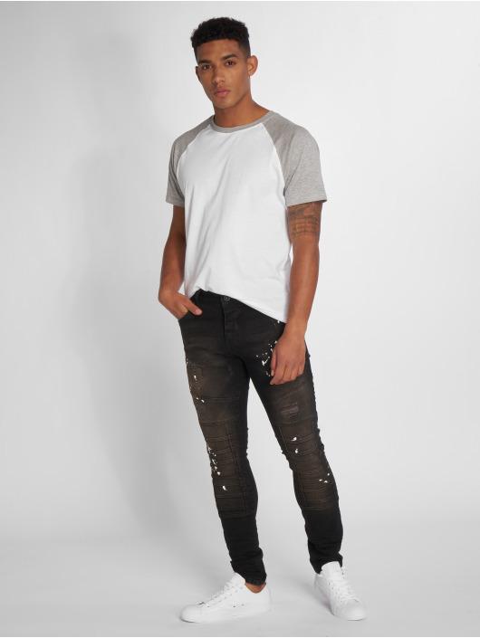 2Y Slim Fit Jeans Aleo svart
