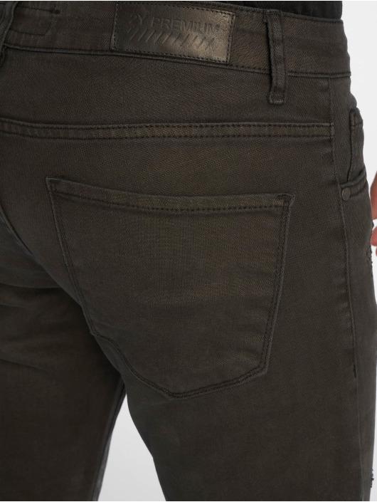2Y Slim Fit Jeans Terry svart
