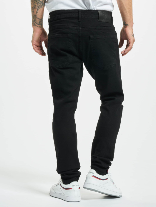 2Y Slim Fit Jeans Cesur svart