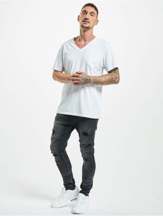 2Y Slim Fit Jeans Emin svart