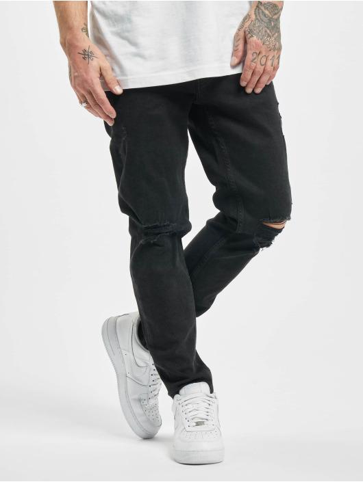 2Y Slim Fit Jeans Mo svart