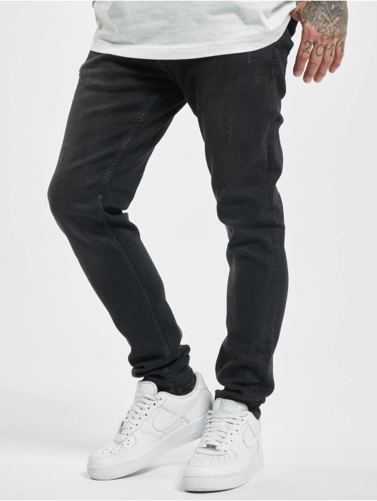 2Y Slim Fit Jeans Ronny svart