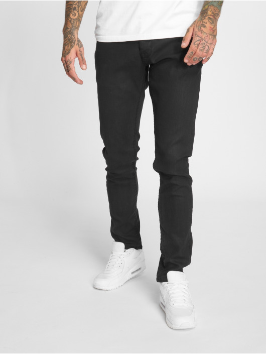 2Y Slim Fit Jeans Premium Edition zwart