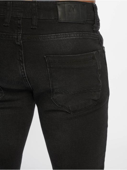 2Y Slim Fit Jeans Taron zwart