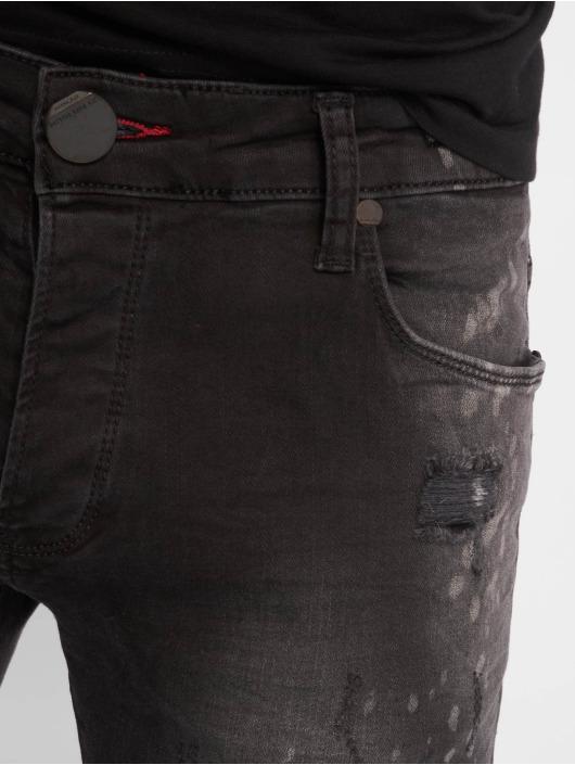 2Y Slim Fit Jeans Ron zwart