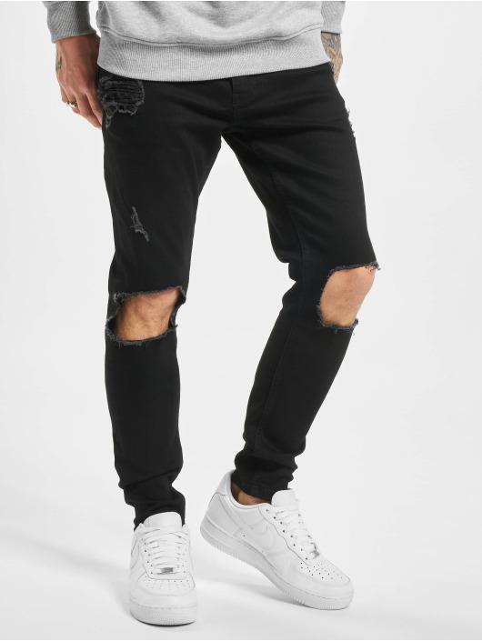 2Y Slim Fit Jeans Jona zwart